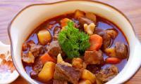 Thịt bò kho gừng sả thơm ngon trong tiết trời lạnh giá