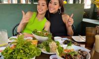 Khánh Vân hội ngộ Hoa hậu Malaysia 1 tuần sau Miss Universe, còn tranh thủ làm điều đặc biệt liên quan đến quê nhà