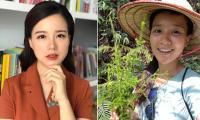 MC Minh Trang lộ mặt mộc kém sắc, làn da đen sạm do cháy nắng khi về sống ở quê