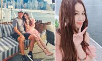 Nàng 'Đát Kỷ' Ôn Bích Hà hiếm hoi chụp ảnh bên chồng đại gia, vóc dáng nuột nà khiến nhiều người ngưỡng mộ