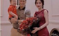 Việt Anh hội ngộ vợ cũ mừng sinh nhật con trai
