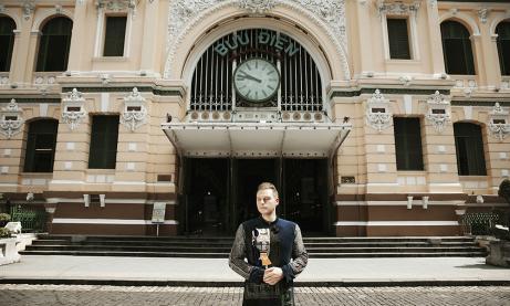 Kyo York quảng bá du lịch Sài Gòn