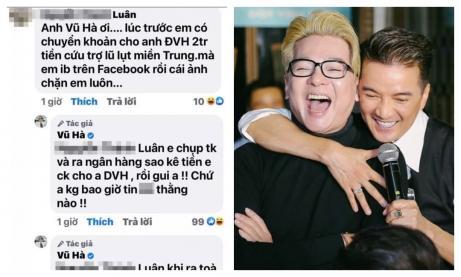 Cư dân mạng gặng hỏi lí do Đàm Vĩnh Hưng khóa bình luận trên Facebook, Vũ Hà đáp thế nào?